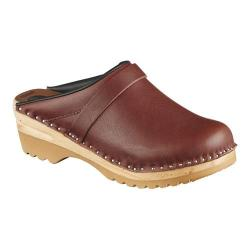 Women's Troentorp Bastad Clogs Chef Umber Leather