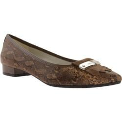 Women's Anne Klein Kallima Flat Light Brown Multi Fabric