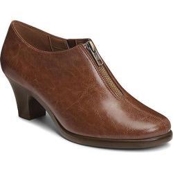 Women's Aerosoles E Mail Bootie Tan Faux Leather