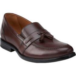 Men's Bostonian Kinnon Step Tassel Loafer Brown Leather
