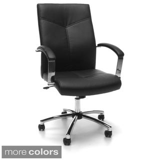 OFM Essentials Executive Bonded Leather Conference Chair (Pack of 20)