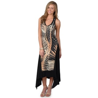 Journee Collection Women's Sleeveless Maxi Dress