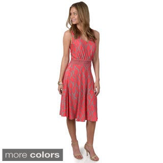 Journee Collection Women's Sleeveless Printed Dress