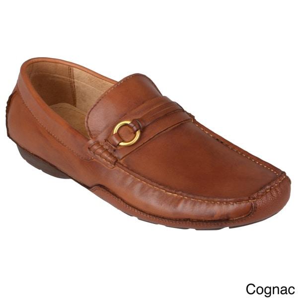 Steve Madden Men's 'Cayler' Leather Slip-on Loafers