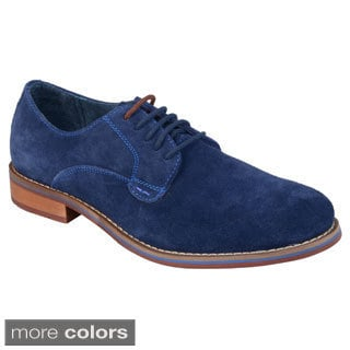 Steve Madden Men's 'Encorr' Sueded Leather Oxfords