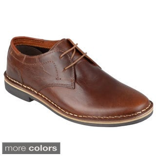 Steve Madden Men's 'Hasten' Topstitched Leather Oxfords