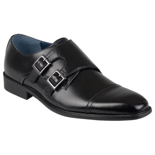 Steve Madden Men's 'Larkin' Leather Buckle Detail Oxfords