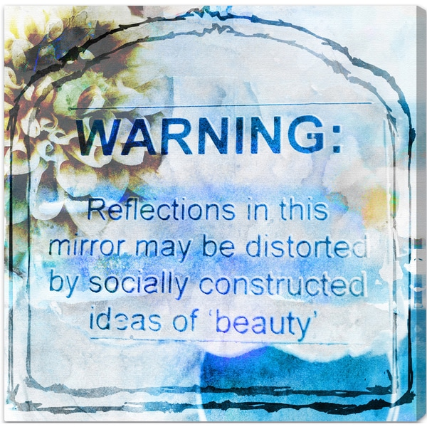 Oliver Gal 'Ideas of Beauty' Canvas Art