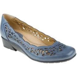 Women's Earth Bayside Moroccan Blue Full Grain Leather