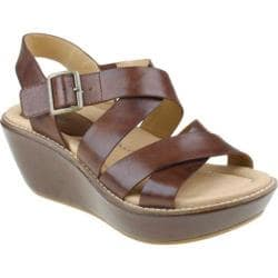 Women's Earth Posy Bat Brown Full Grain Leather