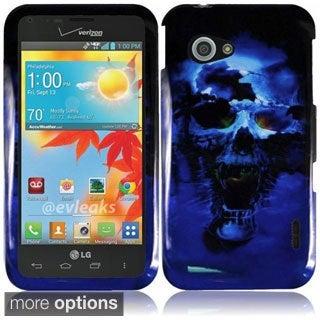 INSTEN Hard Plastic Protective Design Cover Phone Case Cover for LG Enact VS890