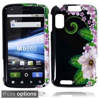 BasAcc Hard Plastic Protective Design Cover Case for Motorola Atrix 4G MB860