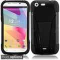 BasAcc Dual Layered Stand Hybrid Cover Case for BLU Life One