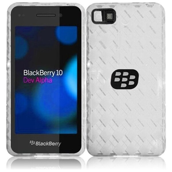INSTEN TPU Rubber Gel Skin Phone Case Cover for BlackBerry BlackBerry Z10 Surfboard London