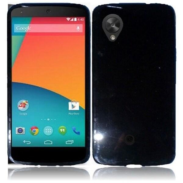 BasAcc Colorful TPU Rubber Gel Skin Cover Case for Google Nexus 5