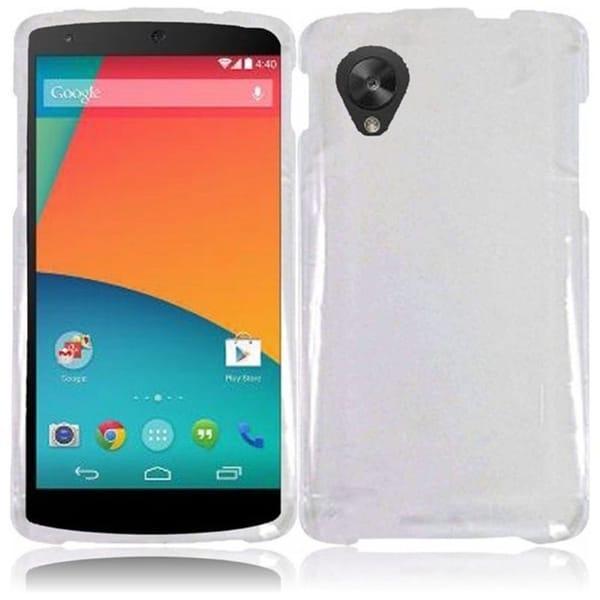 BasAcc Hard Plastic Protective Plain Colorful Cover Case for Google Nexus 5