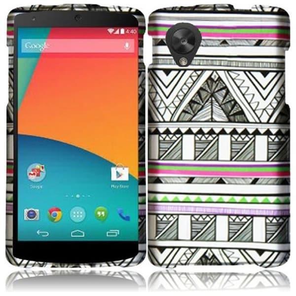 BasAcc Hard Plastic Protective Design Cover Case for Google Nexus 5