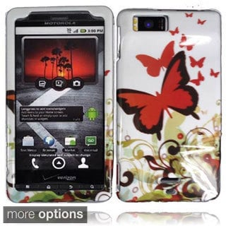 BasAcc Plastic Protective Cover Case for Motorola Droid X MB810 Droid X2 MB870