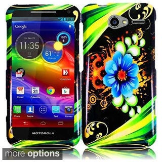 INSTEN Hard Plastic Protective Design Cover Phone Case Cover for Motorola Electrify M XT901