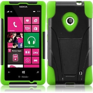 BasAcc Dual Layered Stand Hybrid Cover Case for Nokia Lumia 521