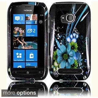 BasAcc Hard Plastic Protective Design Cover Case for Nokia Lumia 710