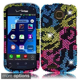 BasAcc Plastic Diamond Bling Crystal Cover Case for Pantech Marauder ADR910L
