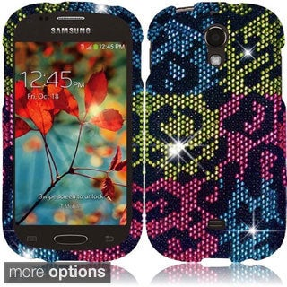 BasAcc Plastic Diamond Bling Crystal Cover Case for Samsung Galaxy Light T399