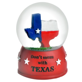 Don't Mess With Texas' 65mm Snow Globe