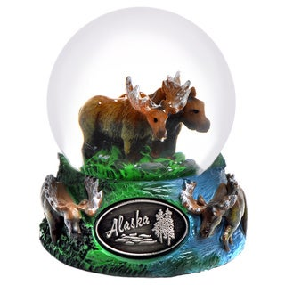 Alaska Moose 65mm Snow Globe
