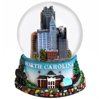 Raleigh North Carolina 65mm Snow Globe