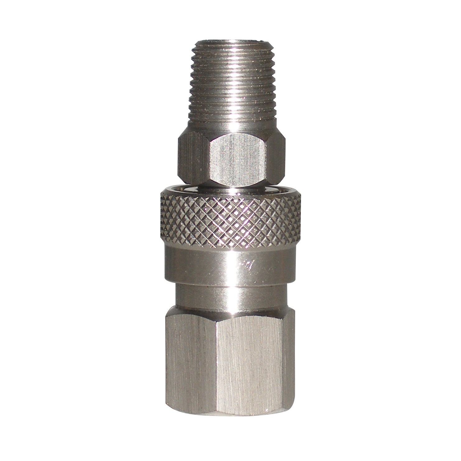 Generic Surplus Stainless Steel .125-inch NPT Gas Hose Quick Disconnect Set at Sears.com