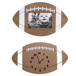 Trend Lab 2-piece Football Wood Decor Set