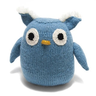 Handmade Stuffed Owl Toy (Peru)