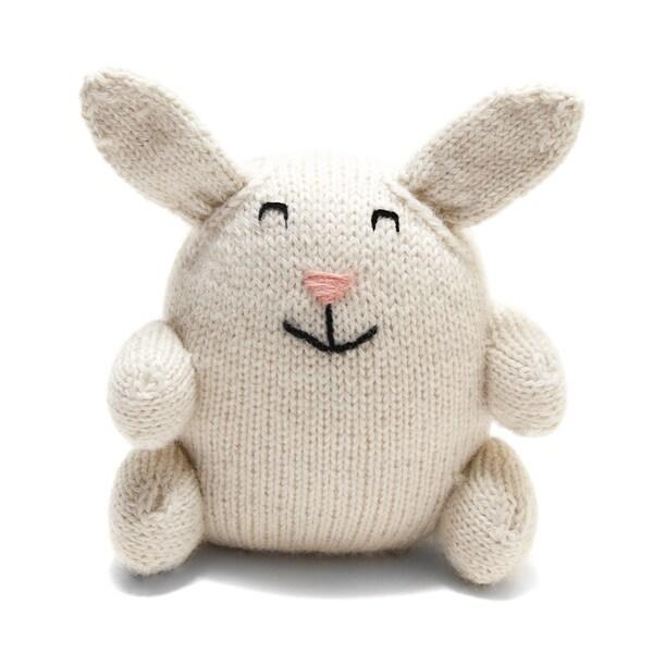 Handmade Stuffed Bunny Toy (Peru)