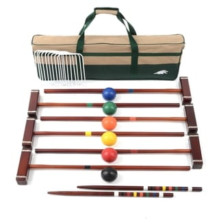 Lion Sports Platinum 6 Player 33-inch Croquet Set