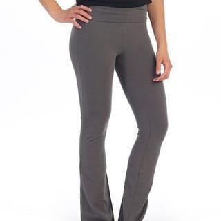 Hadari Women's Basic Grey Yoga Pants