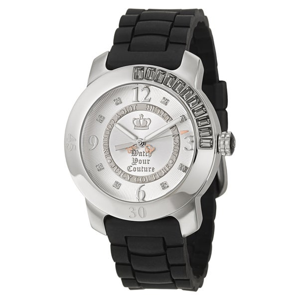 Juicy Couture Women's 1900546 'BFF' Black Stainless Steel Watch