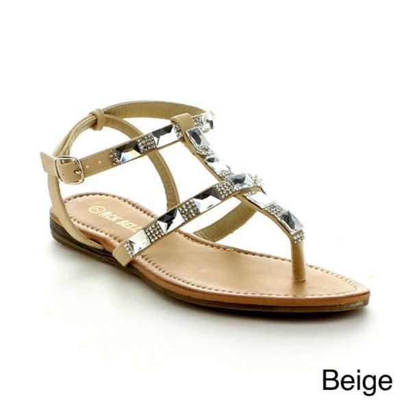 Rck Bella Emma-3 Women's Rhinestone Sandals