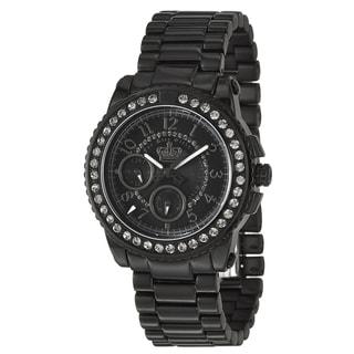 Juicy Couture Women's 1900712 'Pedigree' Black Ceramic Watch