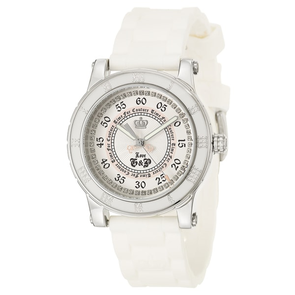 Juicy Couture Women's 1900417 'HRH' White Stainless Steel Watch