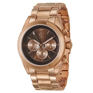 Juicy Couture Women's 1900900 'Stella' Rose Gold-plated Stainless Steel Watch