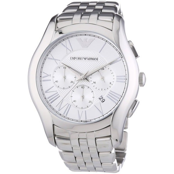 Armani Men's AR1702 Valente Chronograph Stainless Steel Watch