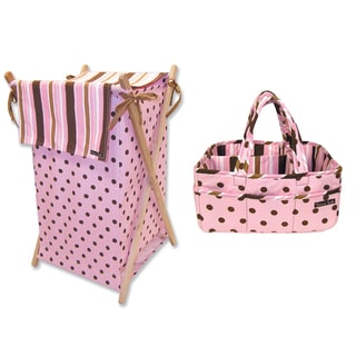 Trend Lab Maya 2-piece Storage Set in Dot