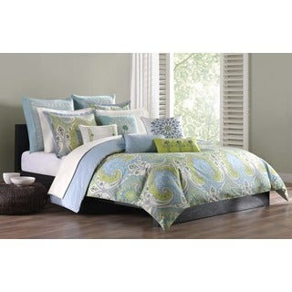 Echo Sardinia Duvet Cover Set with Matching Sham