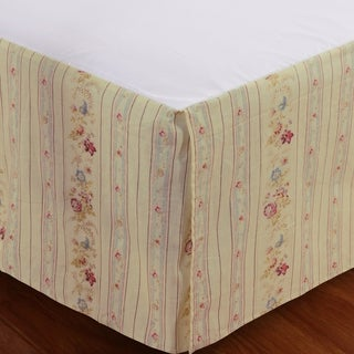 Antique Rose 15-inch Drop Bedskirt
