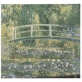 Monet Japanese Bridge at Giverny Wall Tapestry