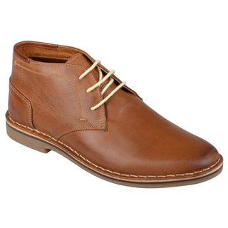 Steve Madden Men's 'Hestonn' Lace-up Leather Chukka Shoes