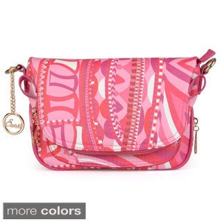 Journee Collection Women's Printed Crossbody Bag
