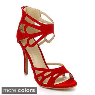 Liliana JOARY-2 Women's Ankle Wrapped High Heels