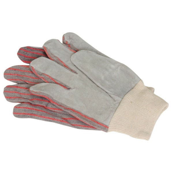 Leather Palm Work Gloves (Set of 12)